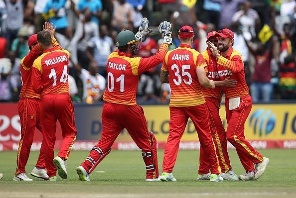 UAE v Zimbabwe - ICC Cricket World Cup Qualifier