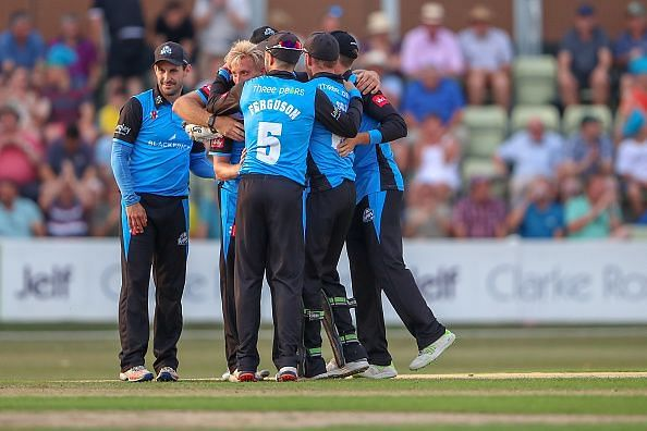 2018 Vitality Blast Cricket Worcestershire Rapids v Birmingham Bears Jul 6th
