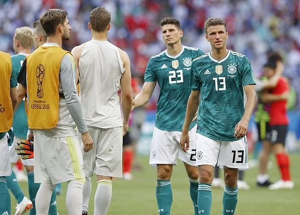 Football: South Korea vs Germany at World Cup