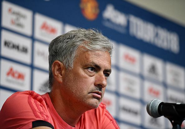 Manchester United Pre-Season Training and Press Conference