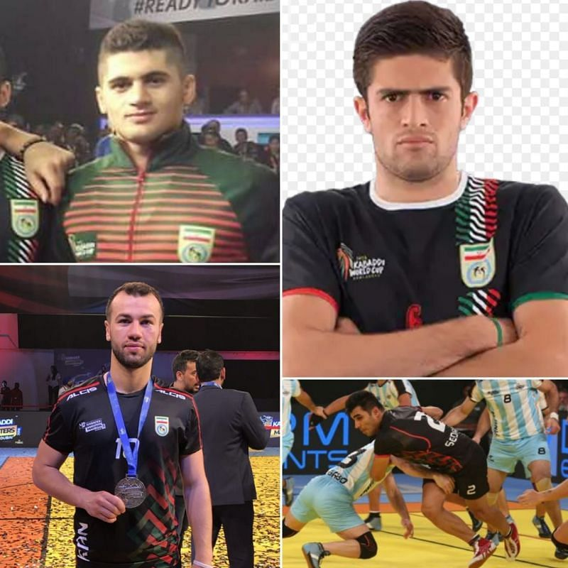 From clockwise: Mohsen Maghsoudlu, Abofazl Maghsoudlu, Emad Sedaghatnia and M. Esmael Maghsoudloo.