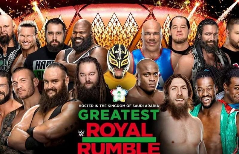 How much did The Greatest Royal Rumble earn WWE?