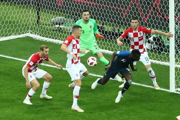 France was awarded a penalty courtesy of VAR.