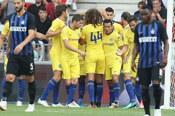 Chelsea emerged victorious on penalties