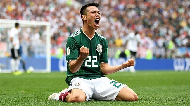 Lozano starred for Mexico