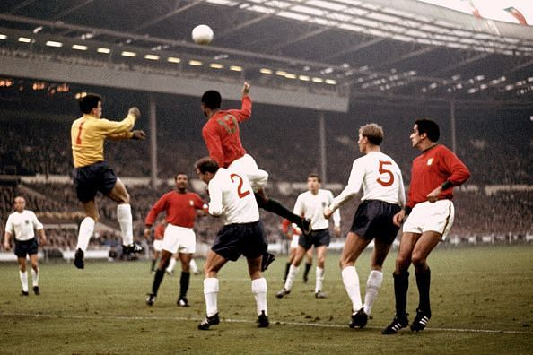 Soccer - World Cup England 1966 - Semi Final - Portugal v England
