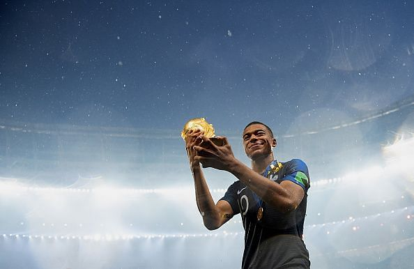 Mbappe was the best young player of the tournament
