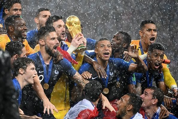 France, eventual winners looked the most organized team right from the start.