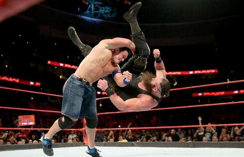 John Cena, Roman Reigns,