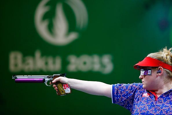 Shooting Day 5: Baku 2015 - 1st European Games