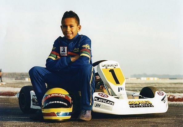 Lewis Hamilton - Go Kart Racer