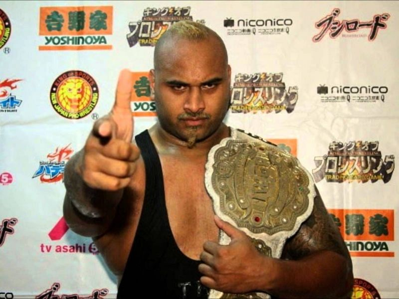 Fale is ruthless and is a former Intercontinental Champion, defeating Shinsuke Nakamura.