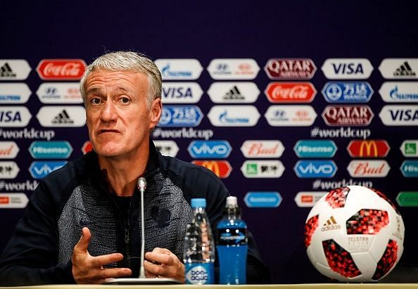 France Press Conference : Final - 2018 FIFA World Cup