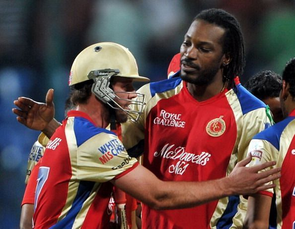 ABD and Gayle dazzled at times for RCB but the team always found a way to falter in the finals