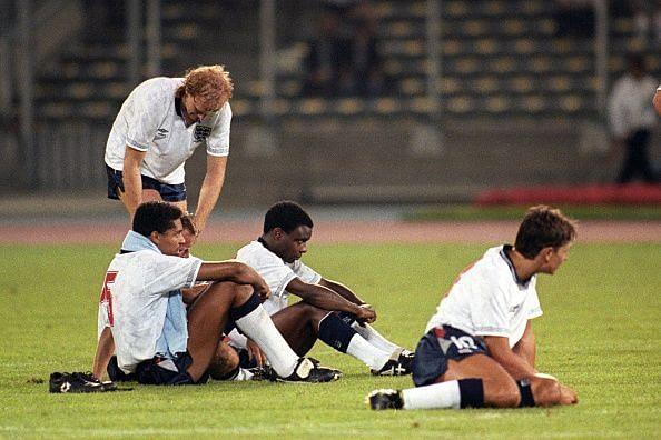 Soccer - FIFA World Cup Italia 1990 - Semi Final - West Germany v England - Stadio Delle Alpi