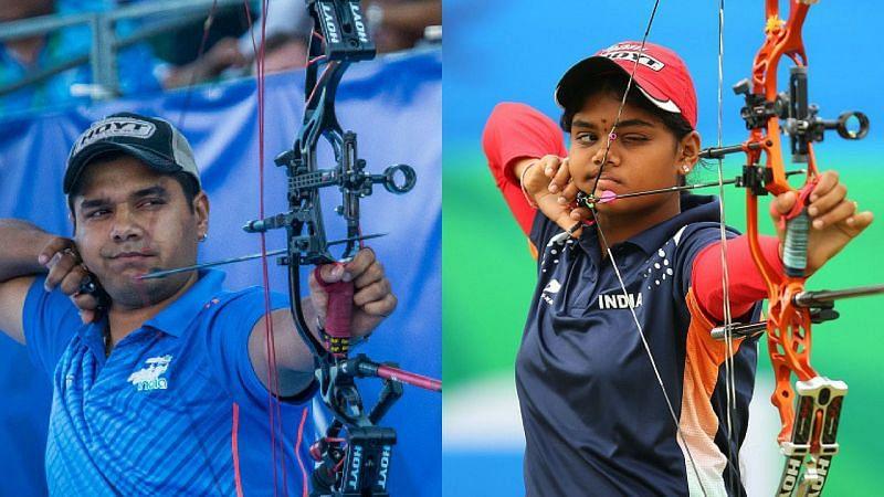 Abhishek Verma (L) and Jyothi Surekha (R)