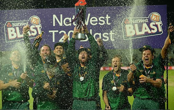 Notts Outlaws - NatWest T20 Blast 2017 Champions