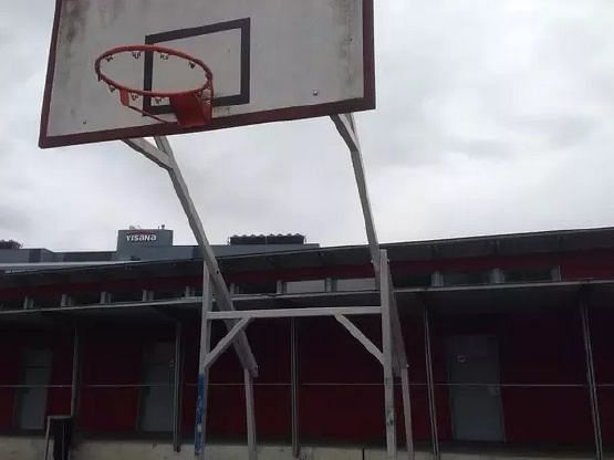 If you can reach it, the rim itself can be used. On this basket, there
