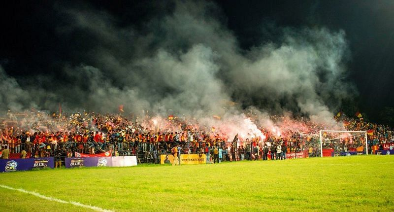 All Images belong to the East Bengal Ultras Media.