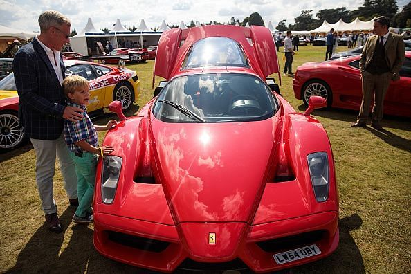 Classic Cars Meet Hypercars And Supercars At Blenheim Palace
