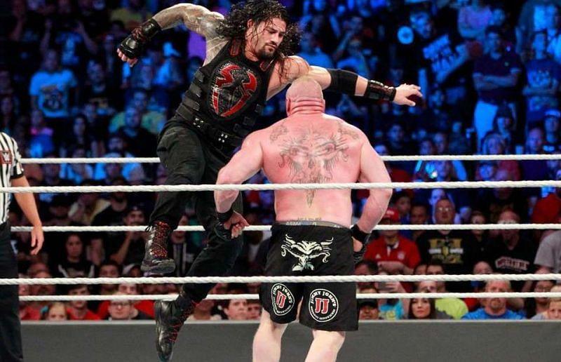 WWE, Brock Lesnar, Roman Reigns,