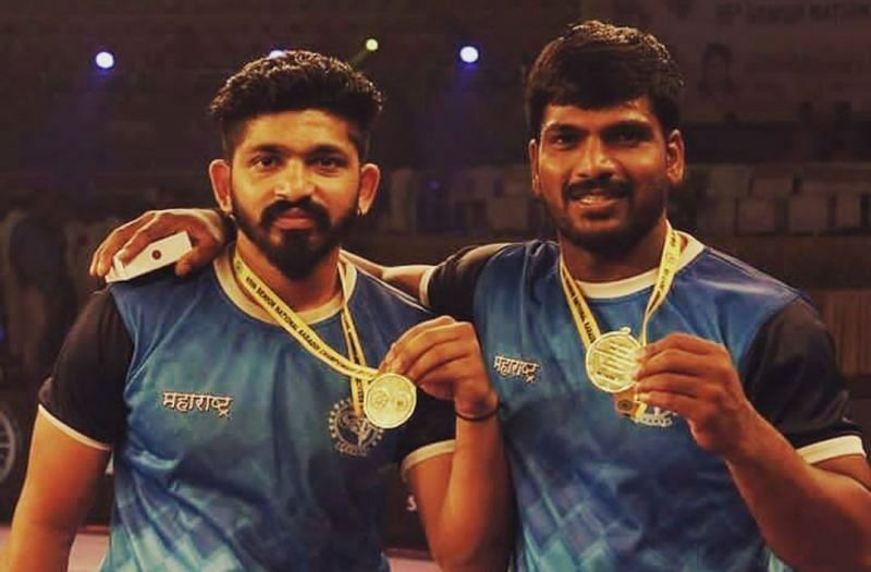 Ruturaj Koravi (left) played a major role for Maharashtra in their gold medal in Senior Nationals 2017-18.