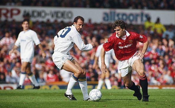 Manchester United v Leeds United Premier League 1992/93