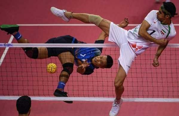 It was a historic moment for the Indian sepak takraw team.
