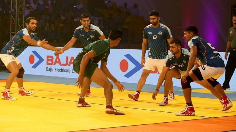 The Indian team emerged victorious from the Kabaddi Masters in Dubai as well
