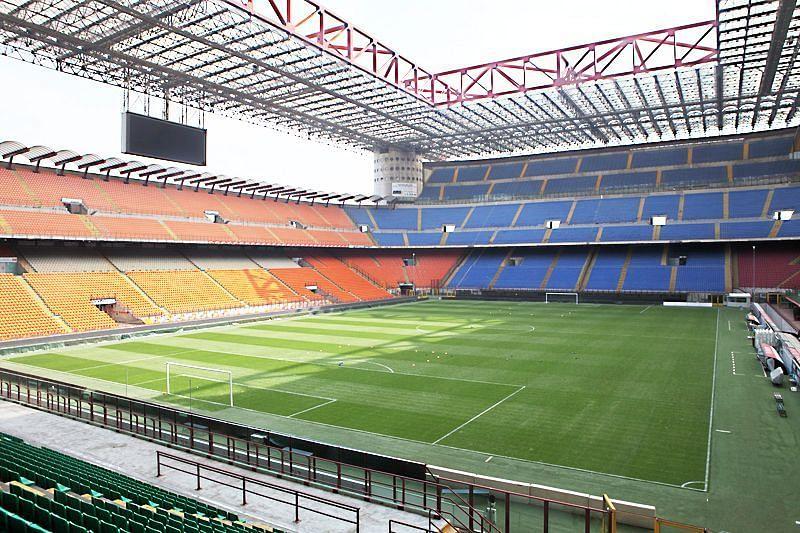 Interior of the stadium