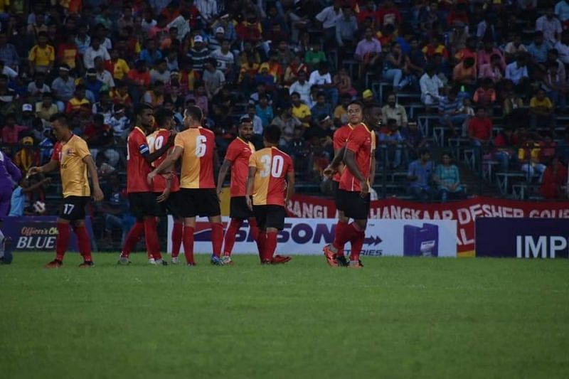 East Bengal are on an unbeaten run.