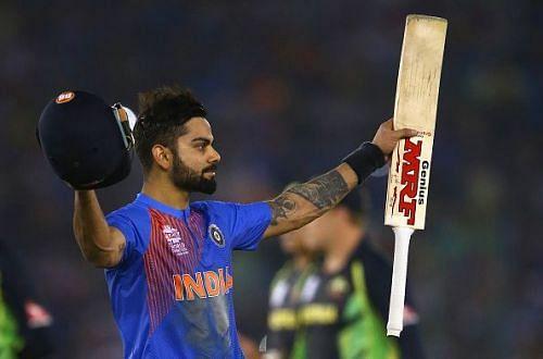 Virat Kohli was dubbed as India
