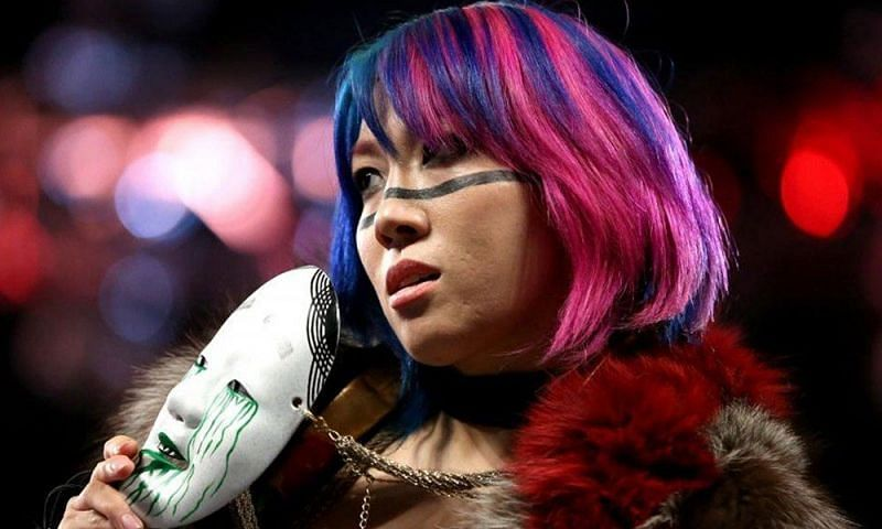 Did Asuka walk out of WWE on Tuesday night?