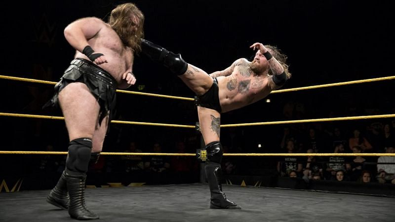 Aleister Black may be removed from the night