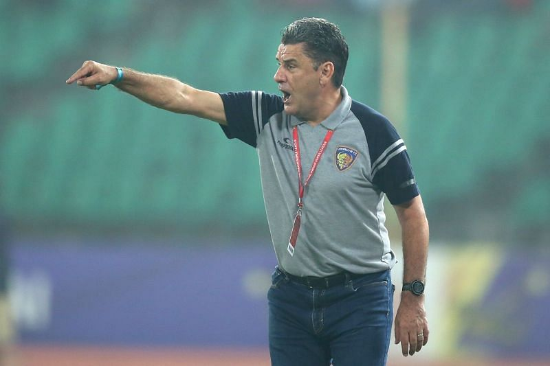 John Gregory is all set for the defence of Chennaiyin