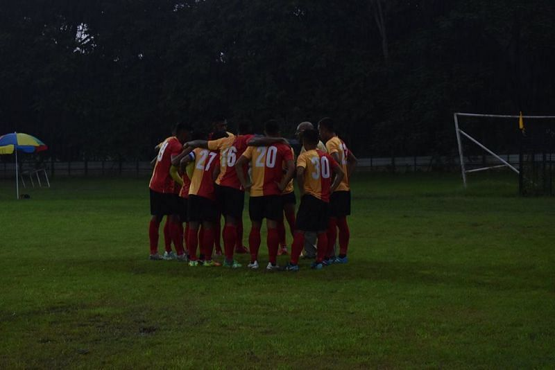 East Bengal still await their first points on board after a rain-marred opening game.