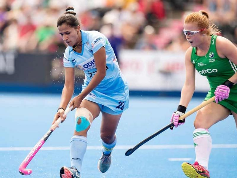 Ireland progress into the semi-finals with a win over India