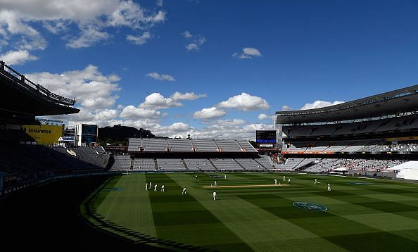 New Zealand v England 1st Test: Day 4