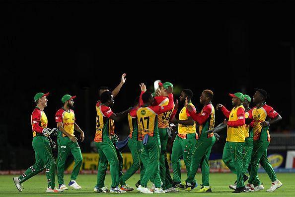 Guyana Amazon Warriors lead Hero CPL Standings