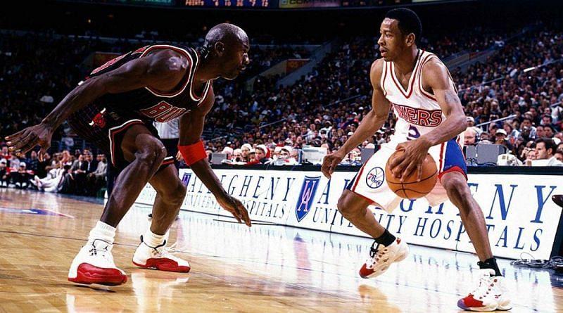 Michael Jordan & Allen Iverson