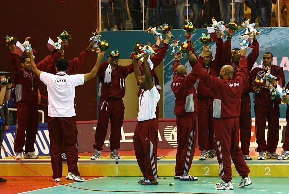 15th Asian Games Doha 2006 - Handball: Kuwait v Qatar