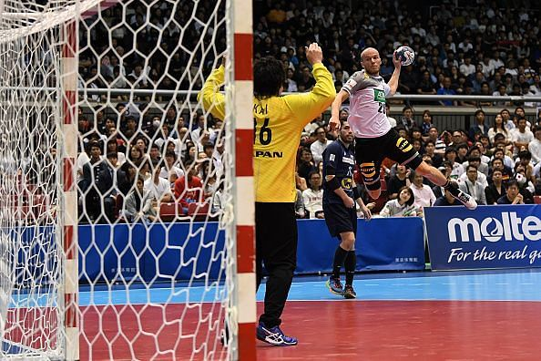 Japan v Germany - Handball International