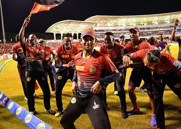 2017 Hero Caribbean Premier League - Trinbago Knight Riders v St Kitts & Nevis Patriots