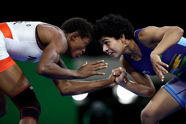 Wrestling - Commonwealth Games Day 9
