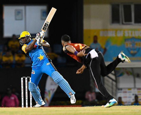 St Lucia Stars v Trinbago Knight Riders - 2018 Hero Caribbean Premier League (CPL) Tournament