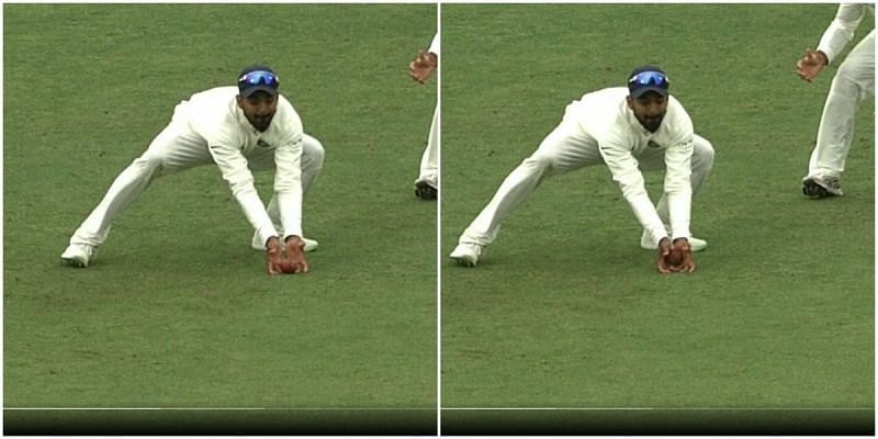 KL Rahul Root catch
