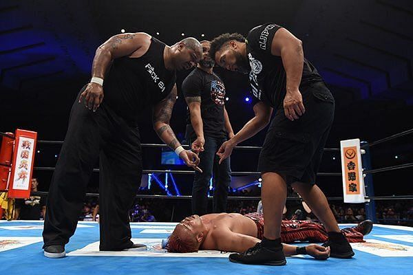 The Firing Squad after laying waste to Okada