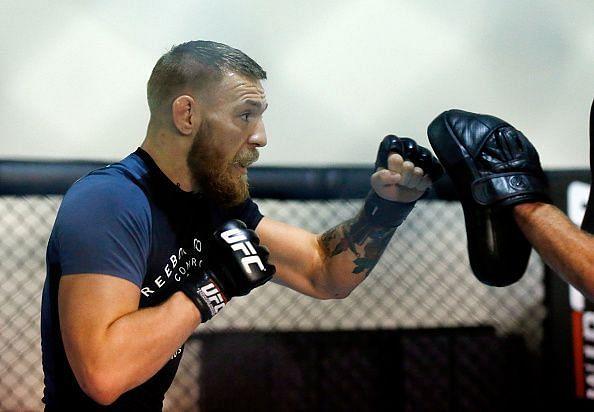 UFC Featherweight Champion Conor McGregor Gym Day
