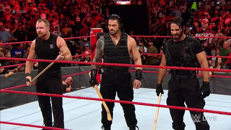 The Shield were almost a member down this year!