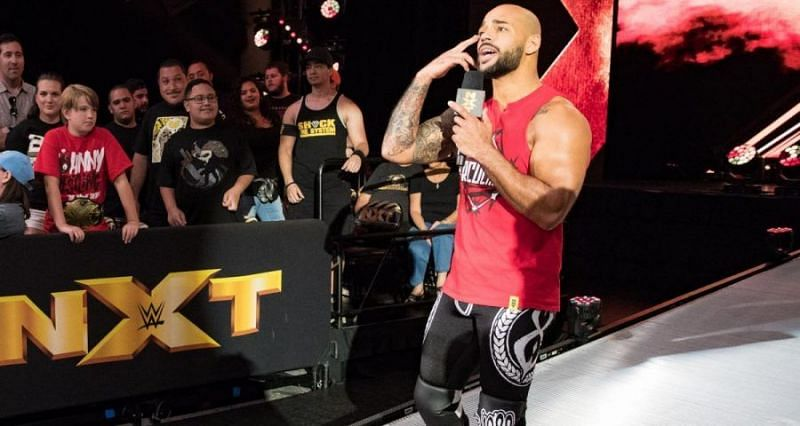 Ricochet will be looking to create further history in NXT